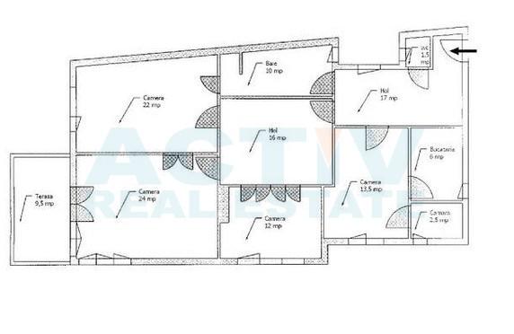 1-Inchiriez Spatiu 4 camere, 125mp, Central 600 Eur, Cluj-Napoca - tocmai.ro - Google Chrome 19012015 155329